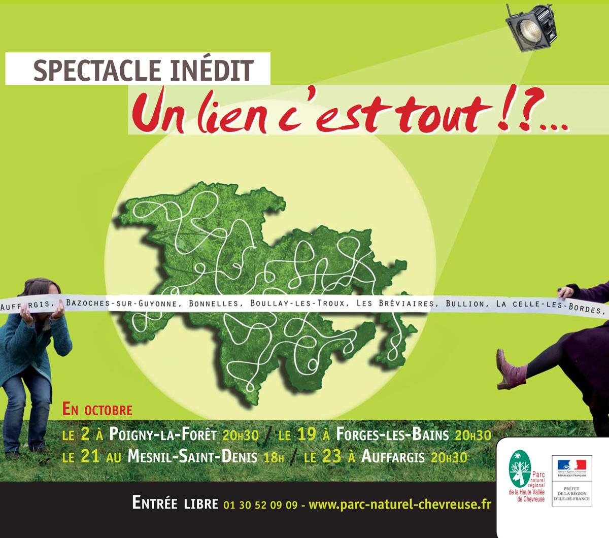 """23 octobre : spectacle """"Un lien c'est tout"""" au Foyer rural"""