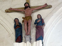 Église peinte Saint-Pierre-et-Saint-Paul, Moutiers-en-Puisaye