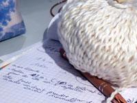 Reprise masquée de l'atelier tricot